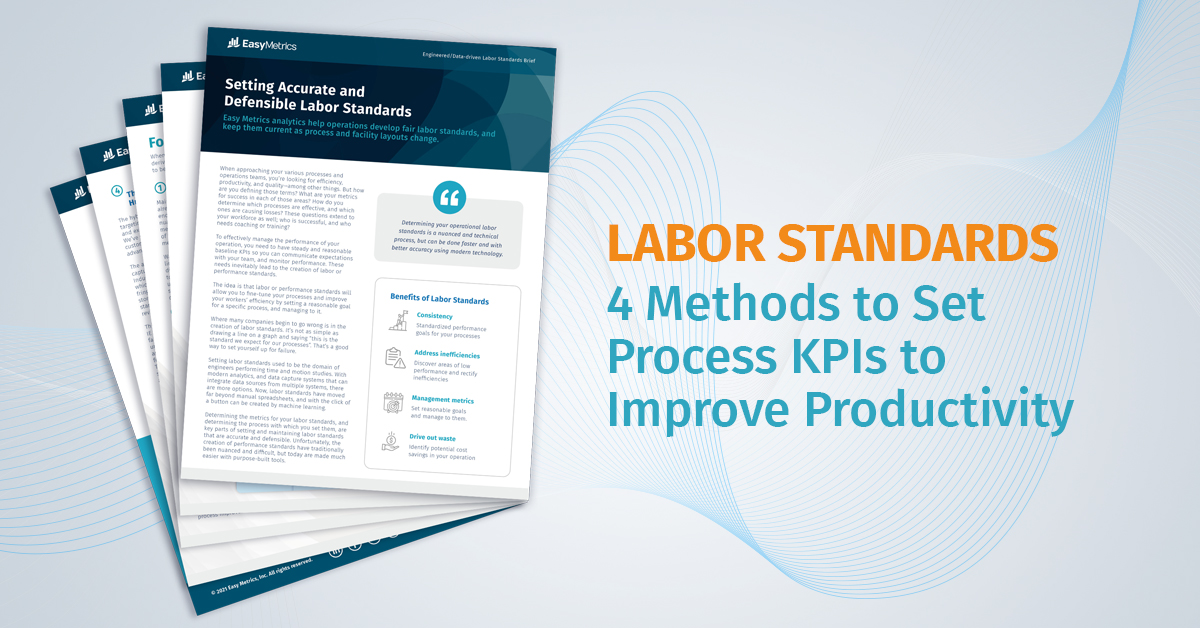Setting Accurate and Defensible Labor Standards